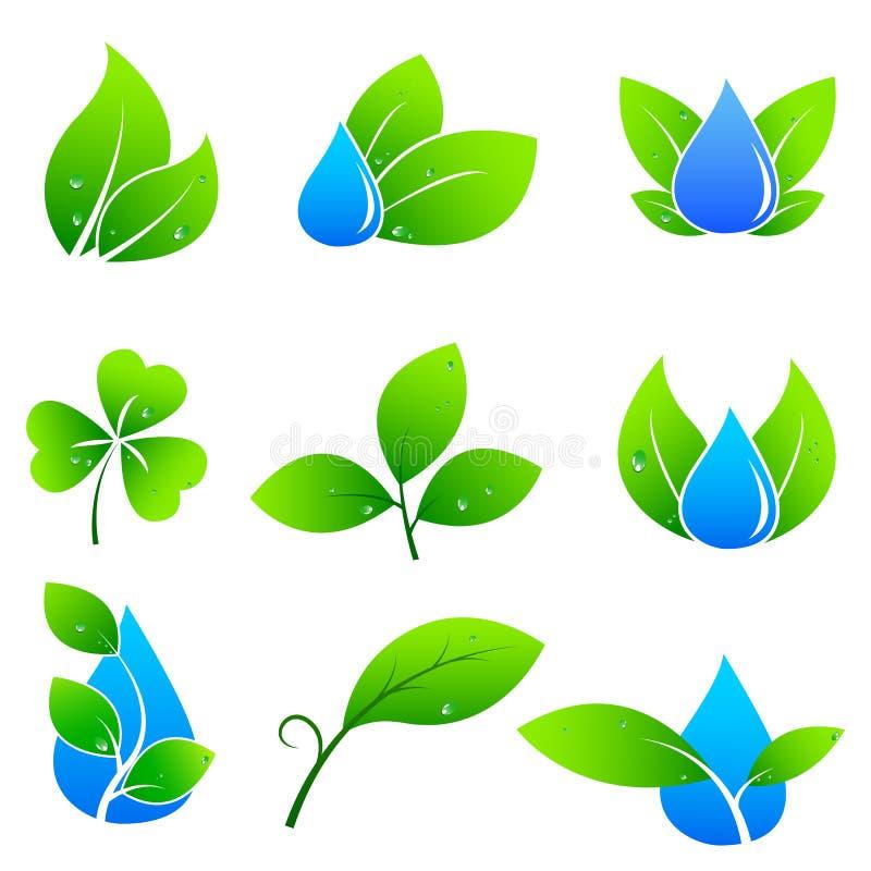 Eco Życzliwy pojęcie ilustracja wektor
