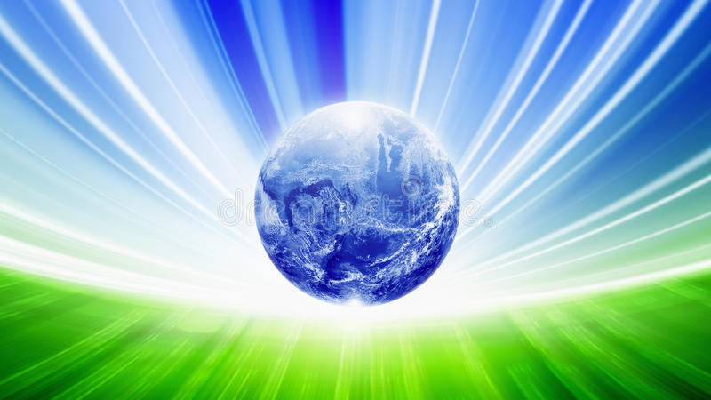 Ecoachtergrond vector illustratie