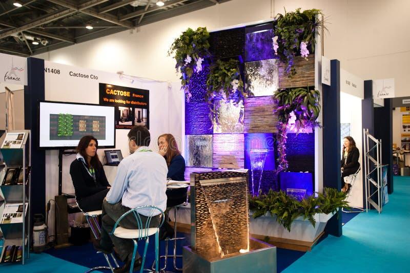 Ecobuild 2013 στο Λονδίνο στοκ εικόνα με δικαίωμα ελεύθερης χρήσης