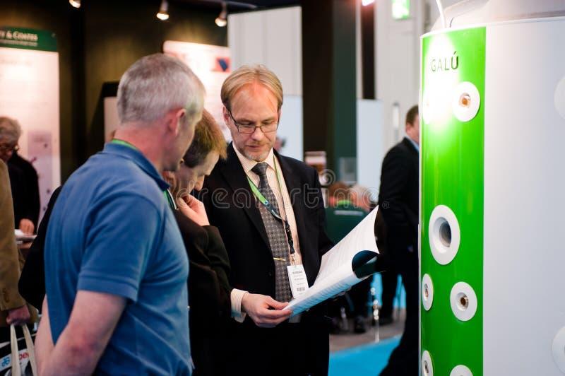 Ecobuild 2013年在伦敦 免版税库存图片