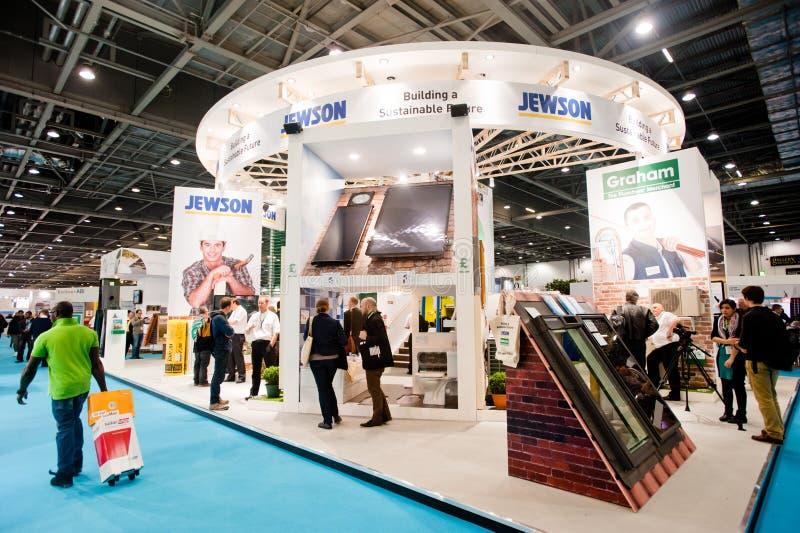 Ecobuild 2013 w Londyn obraz stock