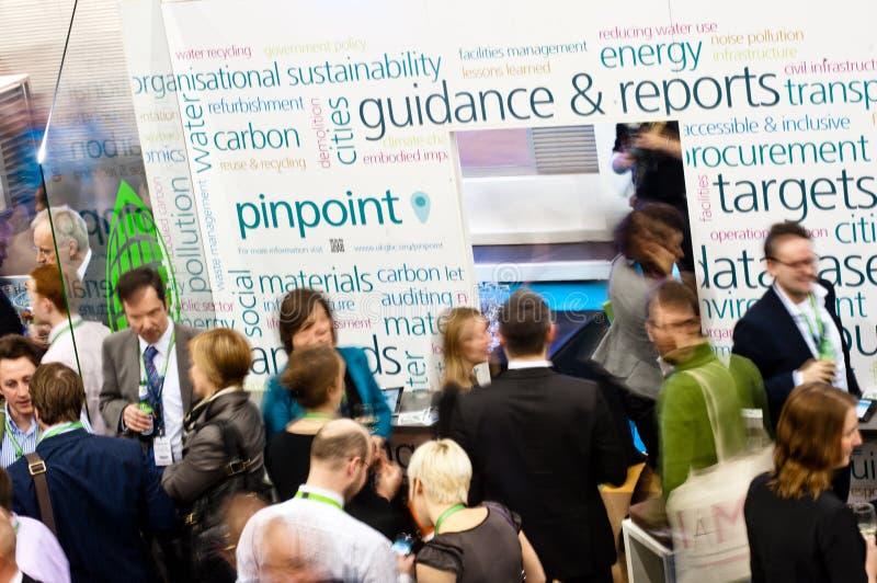 Ecobuild 2013 w Londyn zdjęcia royalty free