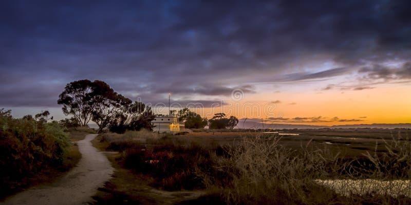 EcoCenter на Пало-Альто Baylands, Калифорнии стоковые фото