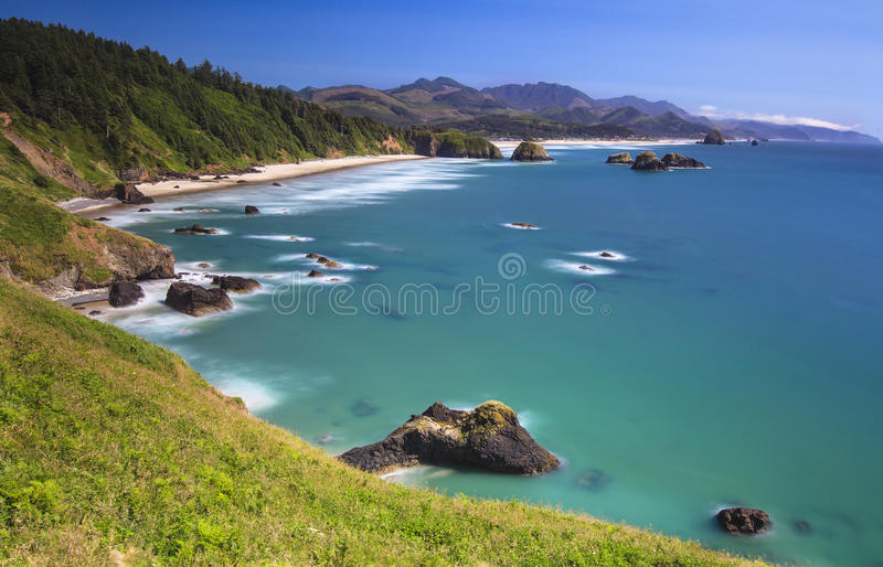 Ecola State Park. Near Cannon beach Oregon royalty free stock photography