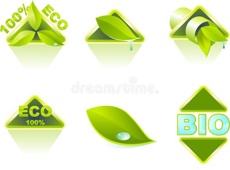 Ecología stock de ilustración