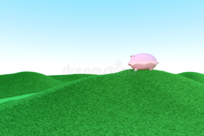 Ecología de la hucha libre illustration