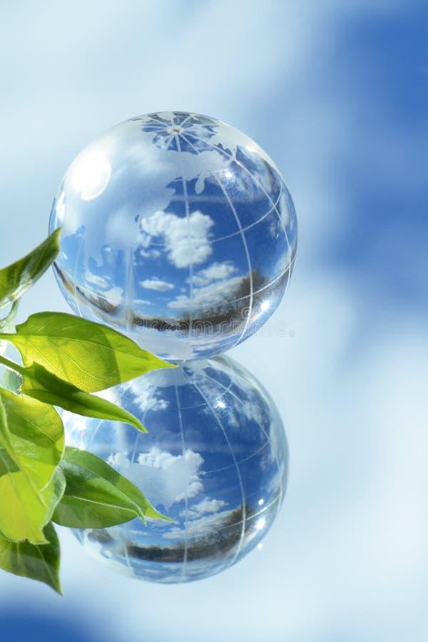 Ecologia global fotos de stock