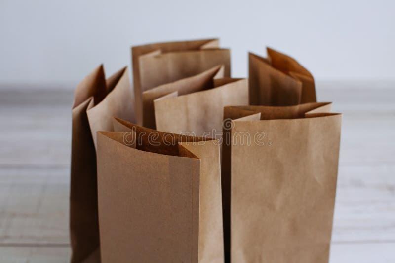 Ecologic hantverkpacke arkivfoto
