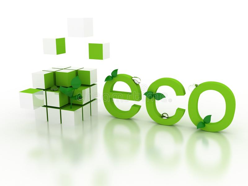 Download Ecological concept stock illustration. Image of object - 13035630