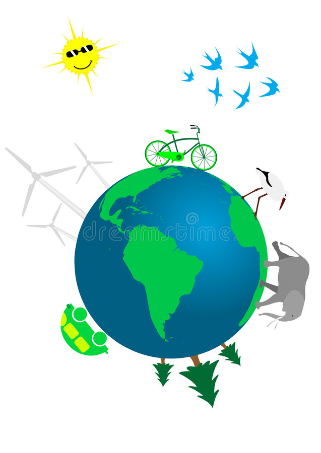 Download Ecological concept stock vector. Image of clean, friendly - 8950456