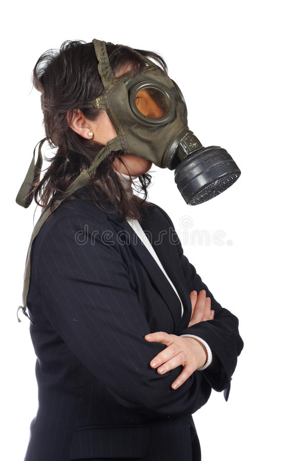 Ecological disaster royalty free stock image