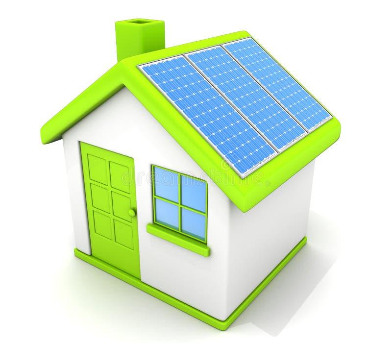 Download Ecological home stock illustration. Image of symbol, sign - 33578057