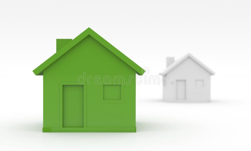 Ecological House Royalty Free Stock Photography