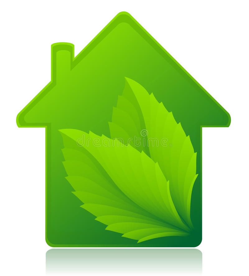 Download Ecological House Concept Vector Illustration Stock Vector - Image: 34274954