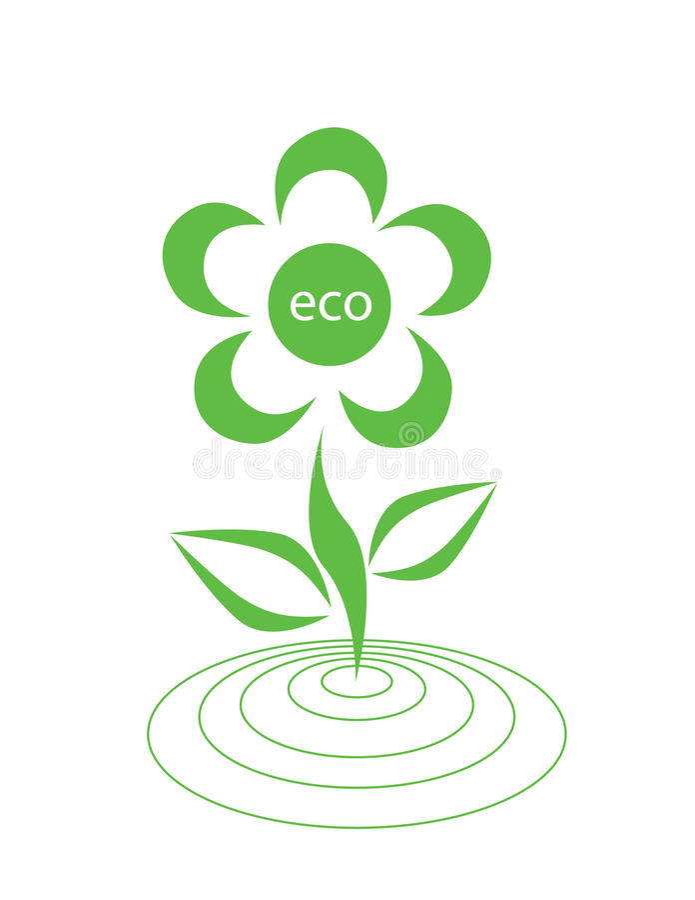 Ecological Logotype Stock Images