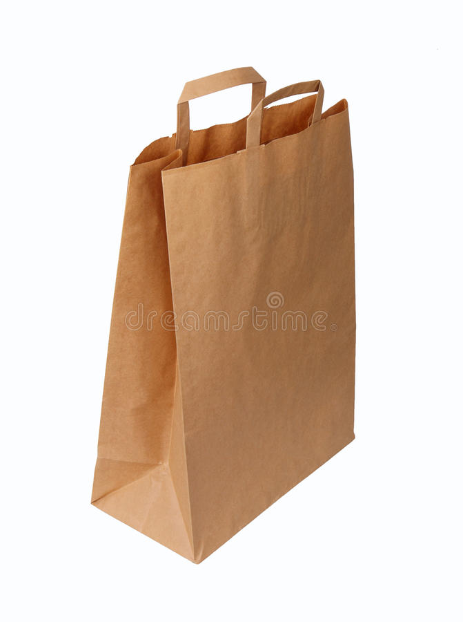 Ecological Paper Bag Stock Photography