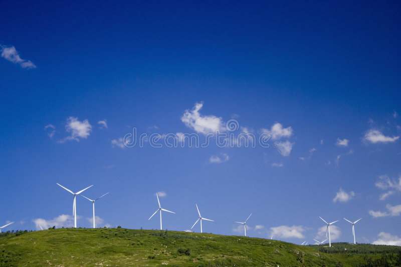 Ecological power stock photos