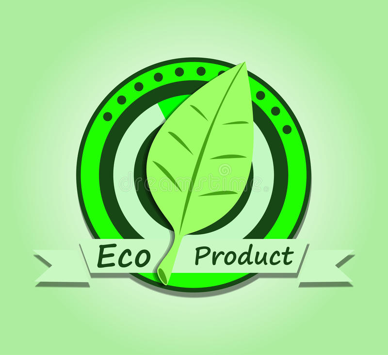 Download Ecological product stock vector. Illustration of conservation - 32674251