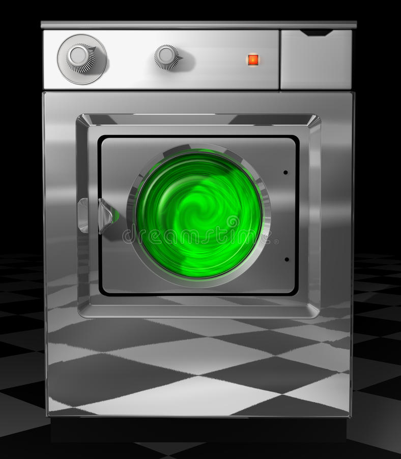Download Ecological washer stock illustration. Image of isolated - 16979971