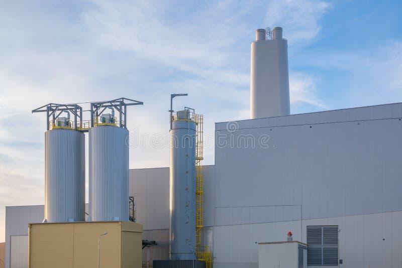 ecological waste incineration stock images