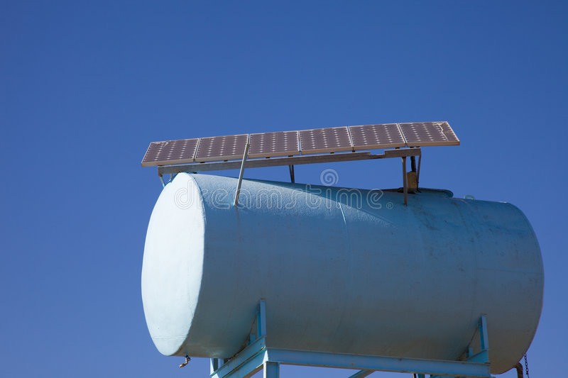 Download Ecological water tank stock image. Image of nature, solar - 8573121