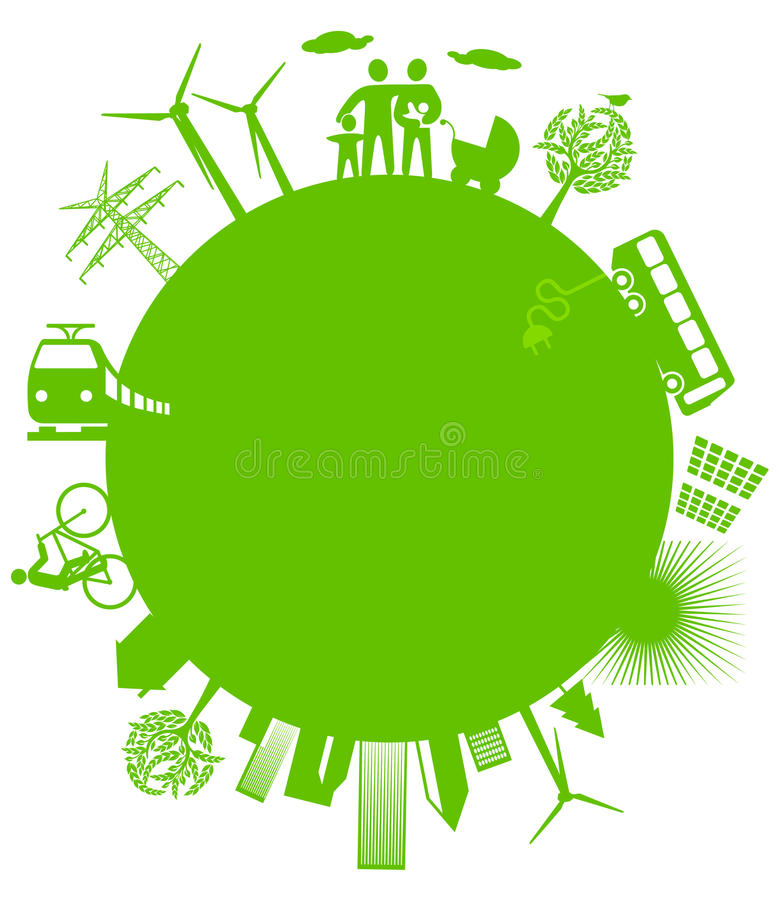 Download Ecological world stock vector. Illustration of energy - 18818509