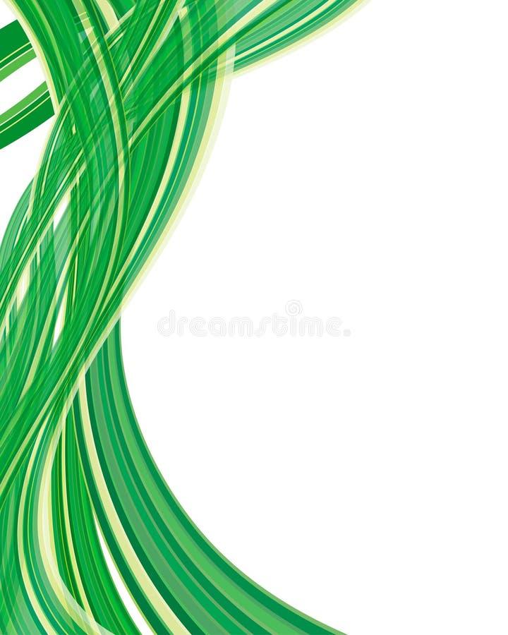 Ecologisch patroon royalty-vrije illustratie