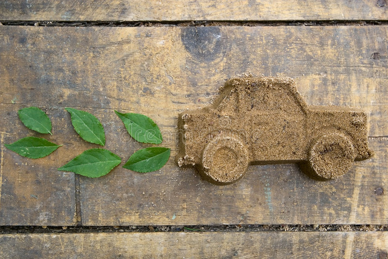 Ecologisch schoon vervoer royalty-vrije stock foto's
