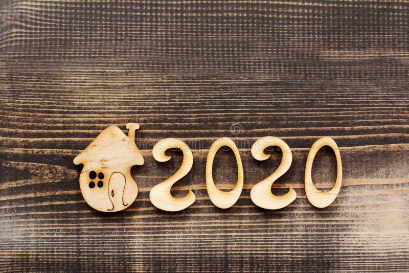 Ecologische huisvesting in 2020 royalty-vrije stock foto