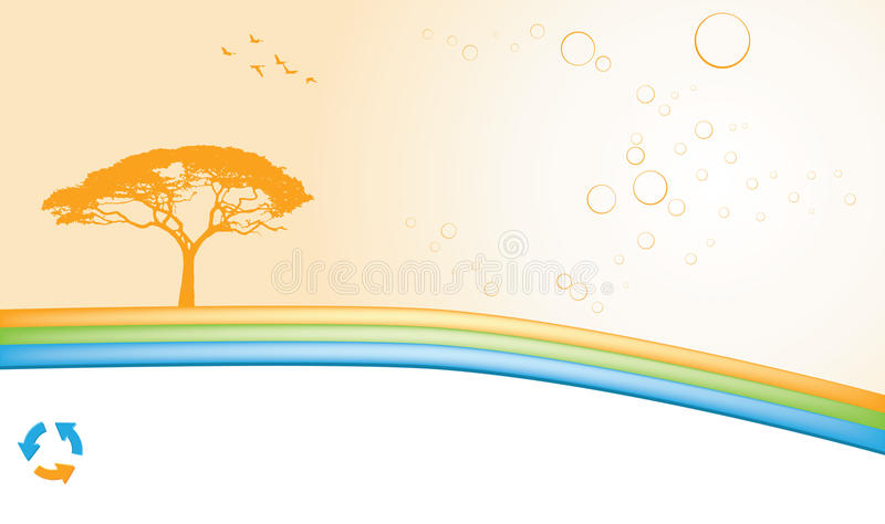 Download Ecology Abstract Background Stock Vector - Image: 10633594