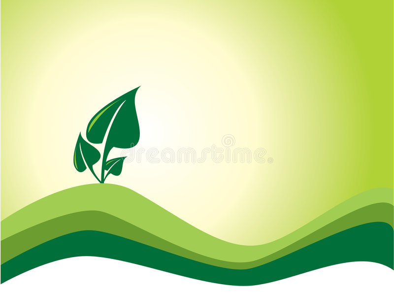 Ecology background. Abstract ecology background. More in my portfolio stock illustration