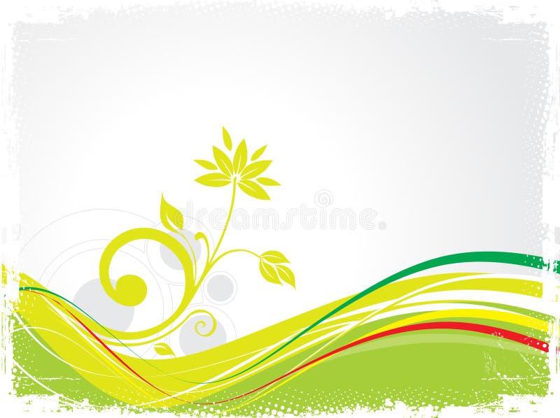 Ecology Company Background - royalty free illustration