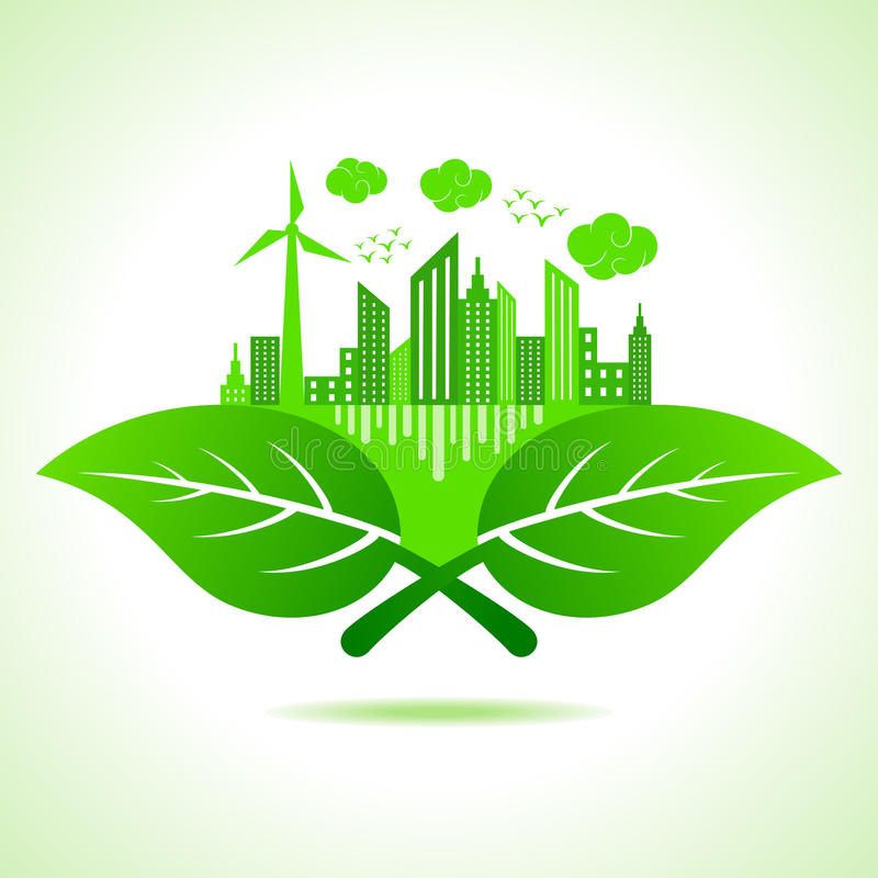 Ecology concept- save nature. Illustration of ecology concept- save nature vector illustration