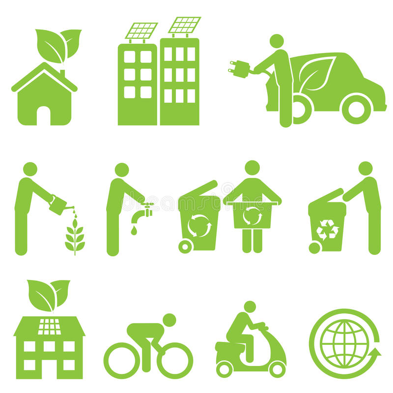 Download Ecology And Environment Icon Set Stock Vector - Image: 33995921