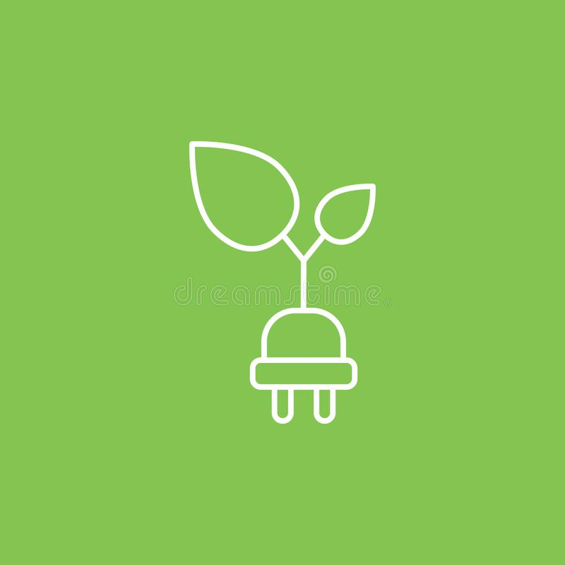 Ecology and environment icon - Vector. Simple element illustration from UI concept. Ecology and environment icon - Vector. Infographic concept vector stock illustration