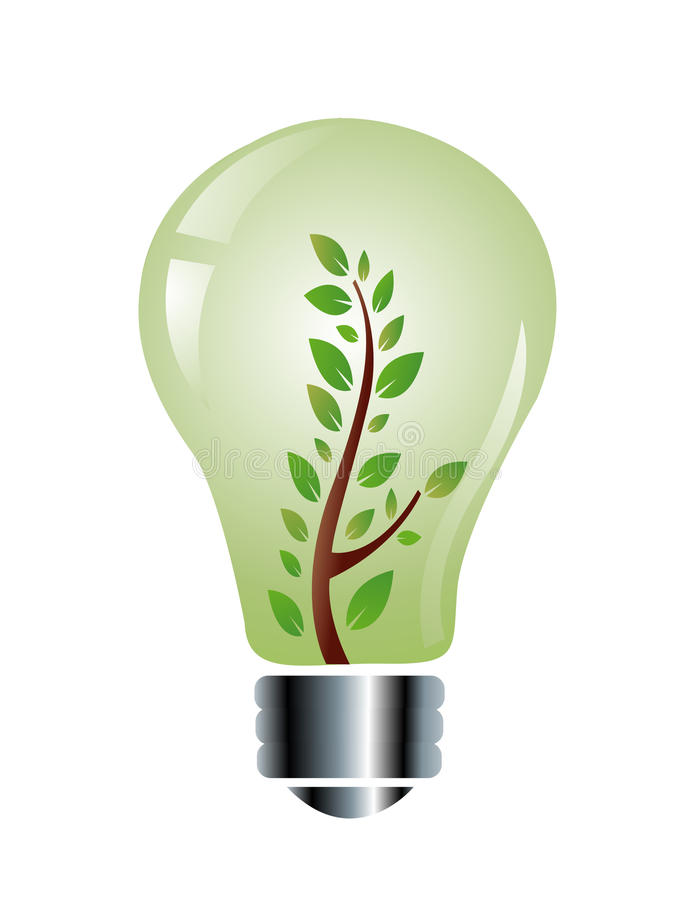 Download Ecology Friendly Light Bulb Stock Vector - Illustration: 32882227