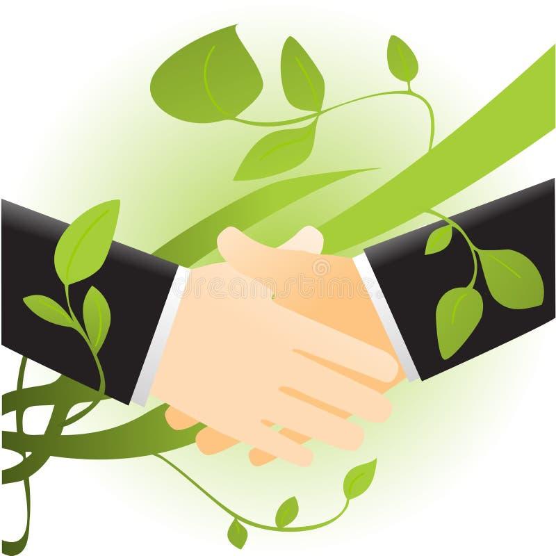 Download Ecology handshake stock vector. Illustration of human - 6719949