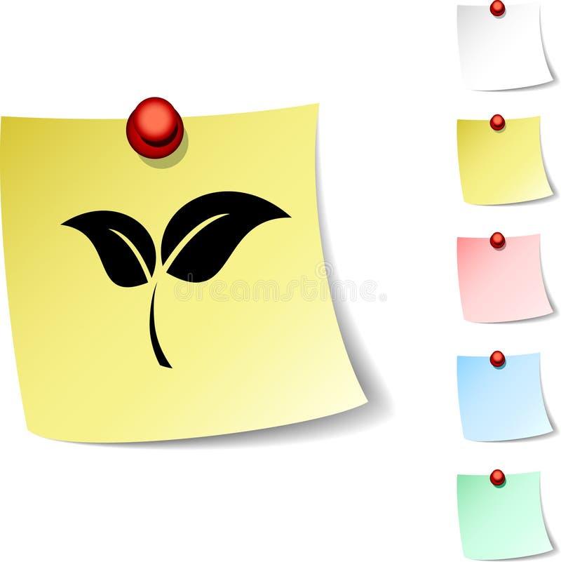 Ecology icon. vector illustration