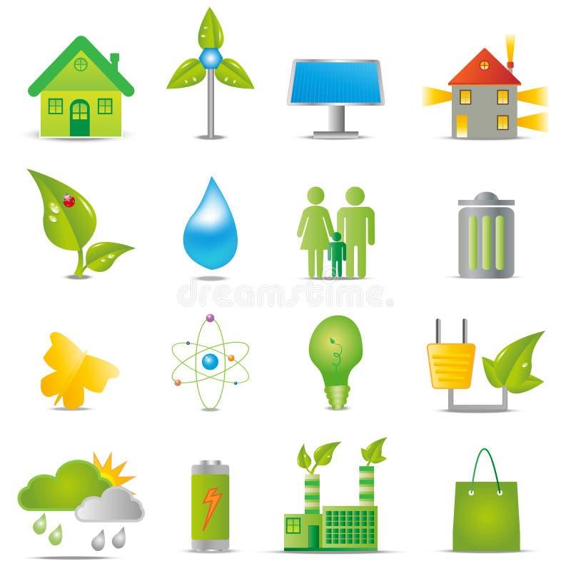 Free Ecology Icons Stock Image - 25419761