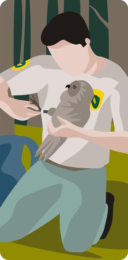 Ecology illustration series vector illustration