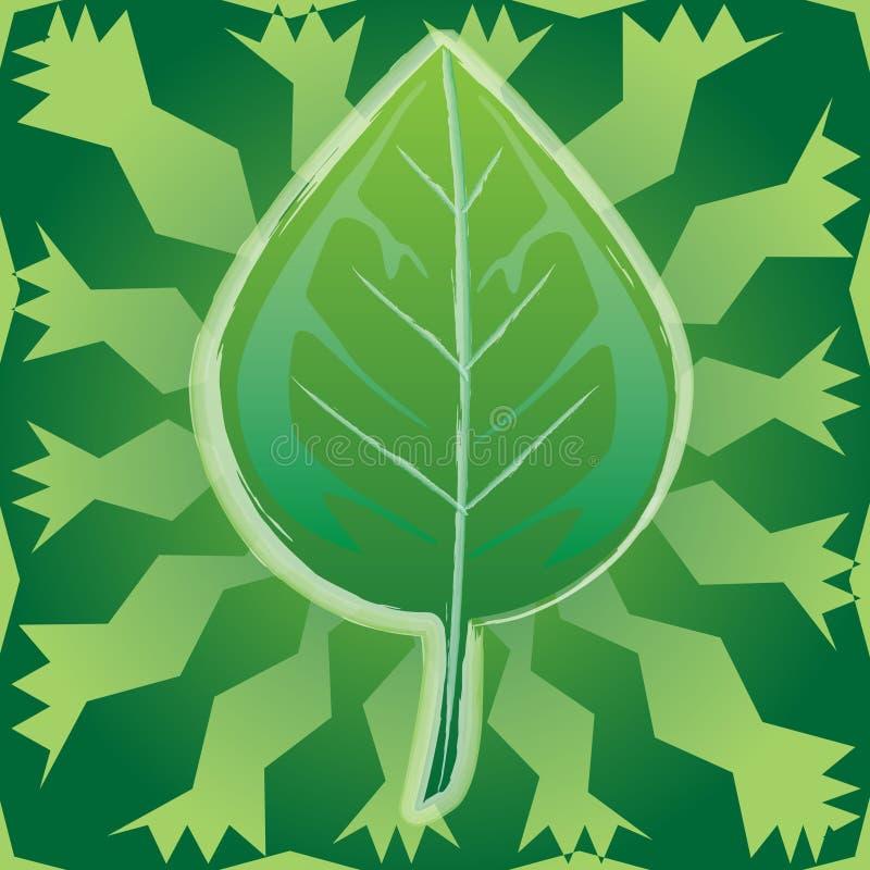 Ecology-Leaf Stock Image