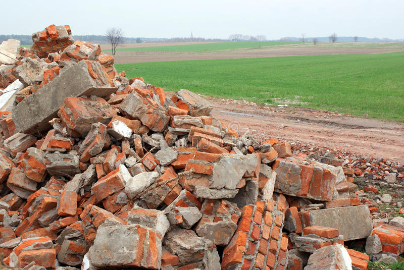 Download Ecology problems stock photo. Image of ruins, road, ecology - 14243512