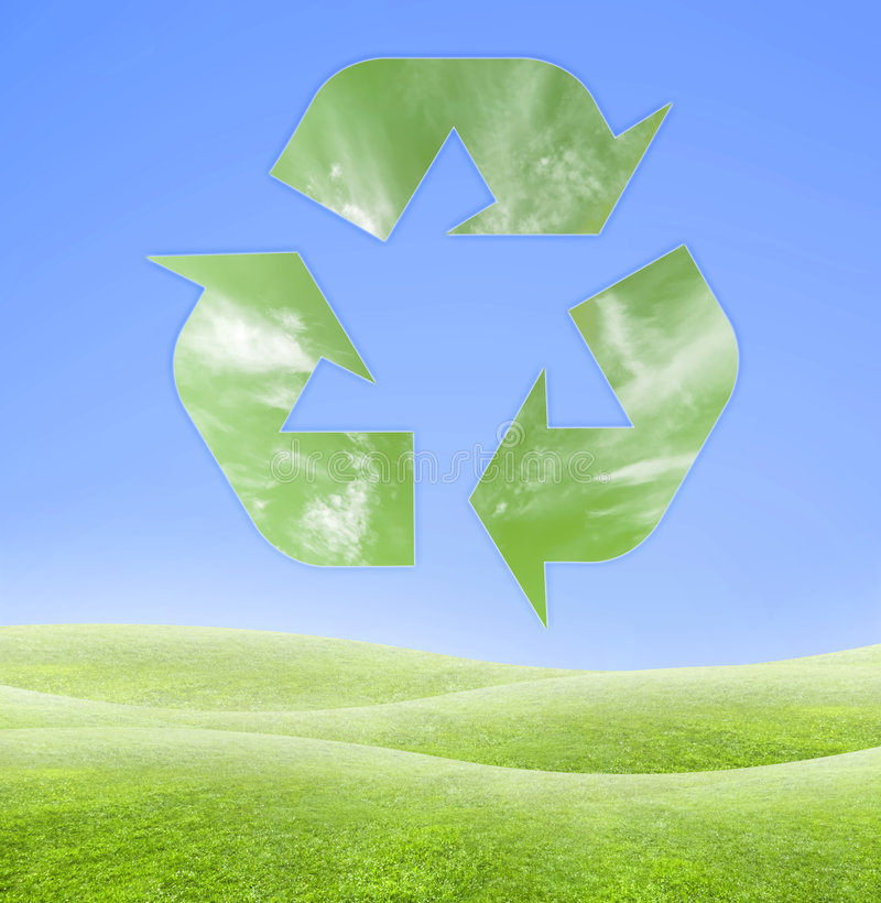 Free Ecology Recycling Symbol Royalty Free Stock Images - 3847589