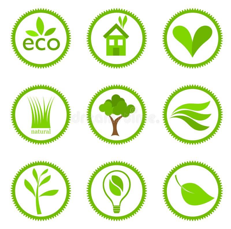 Free Ecology Symbols Royalty Free Stock Photo - 25246065