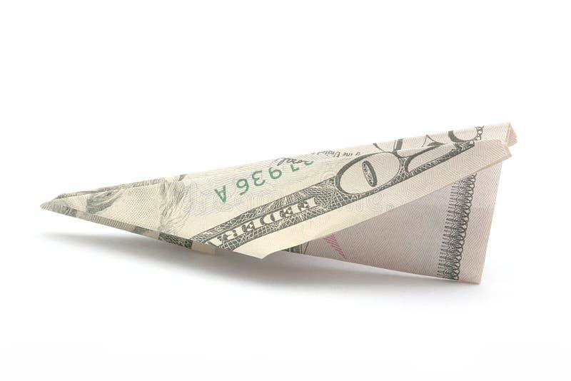 Economía americana que vuela fotografía de archivo libre de regalías