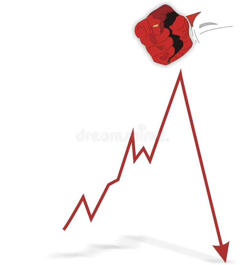 economia ilustração stock