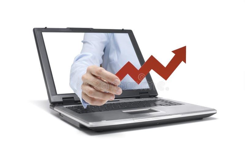 Economia crescente imagens de stock