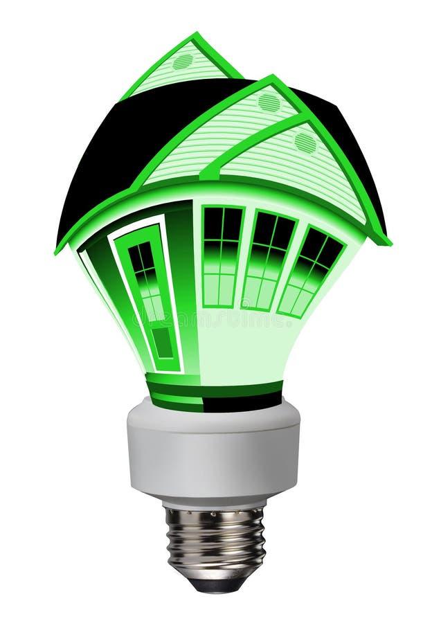 Download Economia De Energia; Verde Indo Ilustração Stock - Ilustração de limitado, espuma: 26503972