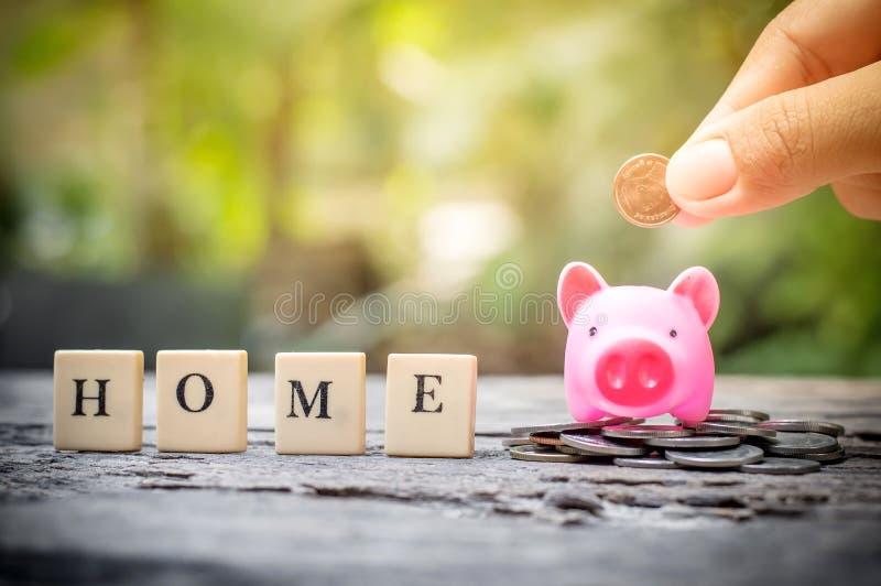 Economia para a casa imagens de stock royalty free