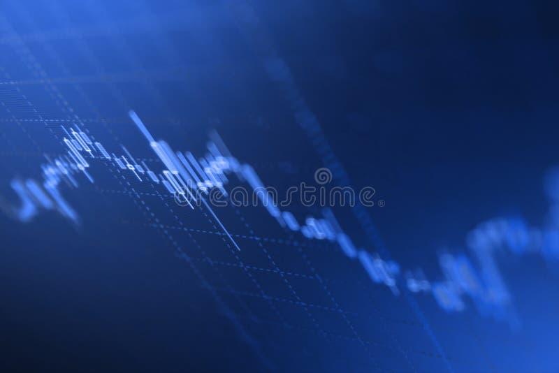 A economia tende o fundo para ideia do negócio e todo o projeto de trabalho da arte imagens de stock royalty free